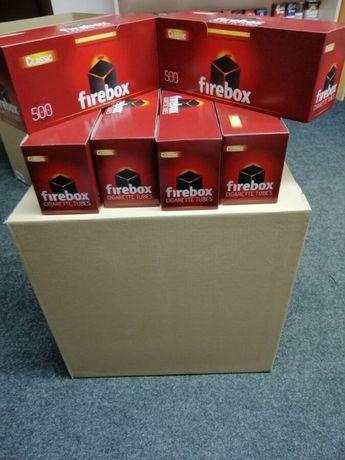 Сигаретные гильзы firebox Ящик 20х500 шт=10000шт