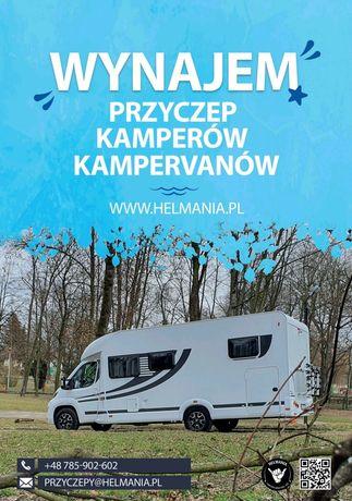 Wolny 25.06-30.07 Kamper camper KNAUS wynajem bon turystyczny