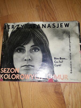 Sezon  kolorowych chmur Jerzy Afanasjew