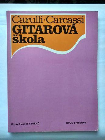Ноты для гитары (выпущены в Братиславе).