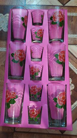 Продам набор стаканов и стопок