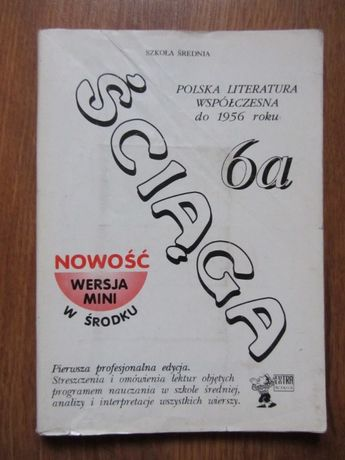 Ściąga 6a literatura współczesna do 1956