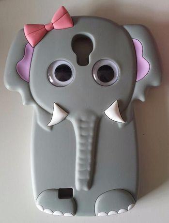 Capa 3D elefante para Samsung S4