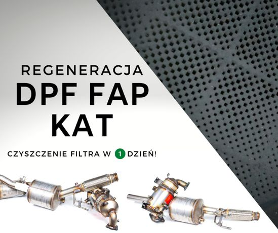 Filtr Cząstek Stałych DPF FAP Citroen C5 Peugeot 407, 2.0 Hdi