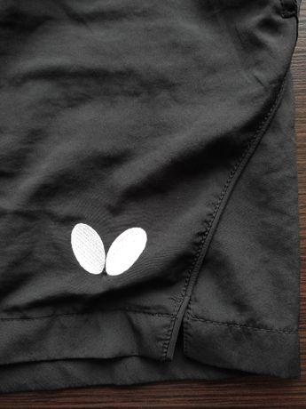 Spodenki Butterfly, tenis stołowy czarne roz. L