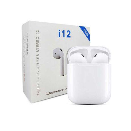 Fones De Ouvido Bluetooth Sem Fio I12 Tws Android IOS