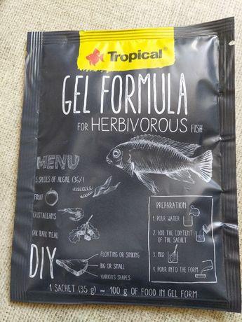 Pokarm Tropical Gel Formula Herbivore ( dla ryb roślinożernych )