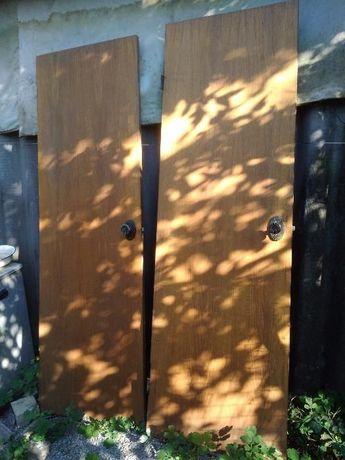 Продам двери шпонированный массив бу