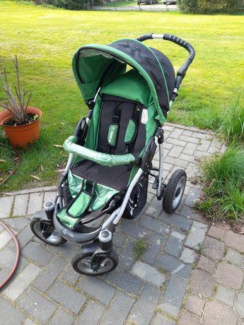 Wózek zielony spacerowy babyactive Q
