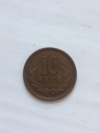 10 йен Японія (помилка в даті)