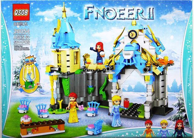 Klocki jakości lego Frouzen 2 zamek Elza