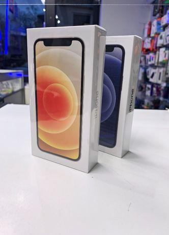 NOWY, NIEAKTYWOWANY Telefon Smartfon iPhone 12 Mini Biały/Czarny 64GB