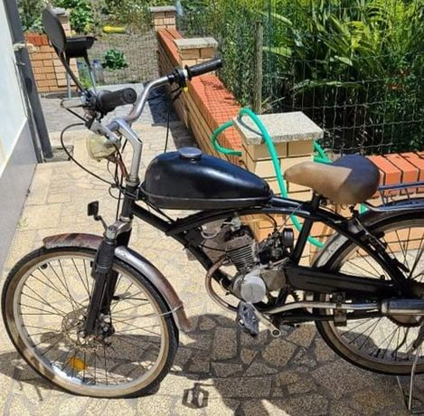 Vendo bicicleta com motor (Bina)