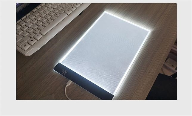 LED планшет для рисования и копирования рисунков. LED доска.