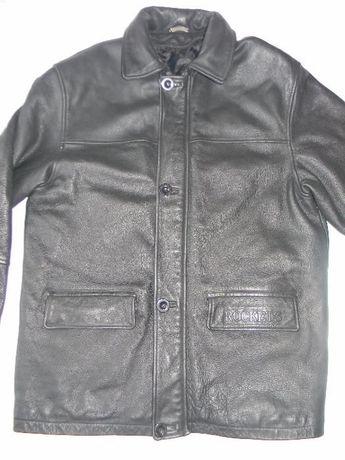 Мужская кожаная куртка Rockets р.56