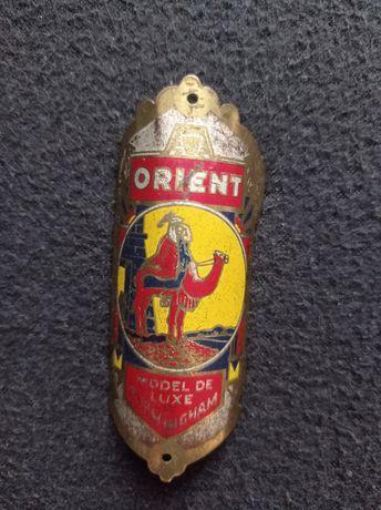Emblemat znaczek na rower Orient