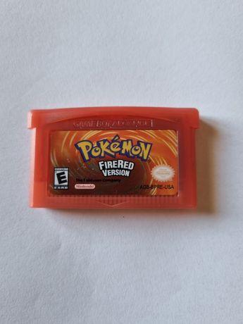 Jogo pokemon firered - GBA - Gameboy - game boy