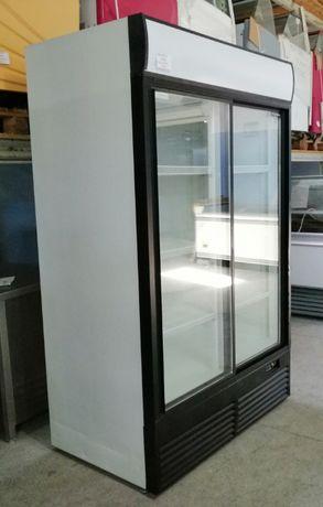 UŻYWANA Szafa chłodnicza oszklona UBC 130 cm rok 2014 LED
