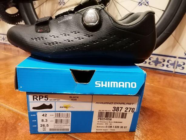 Sapatos de estrada Shimano RP5