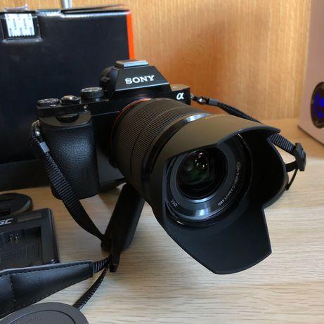 Sony A7 + 28-70mm kit obiektyw
