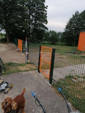 Ogrodzenia Panelowe, Polska Produkcja, Montaż