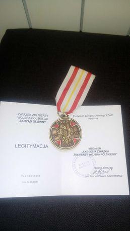 Medal odznaczenie lll RP odznaka ksiazeczka nadania