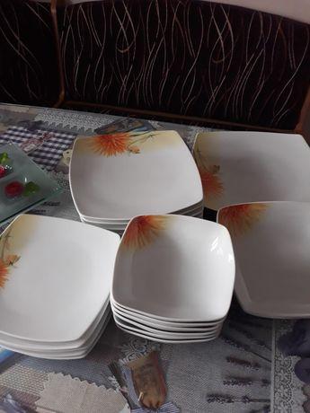 Zestaw obiodowy porcelanowy