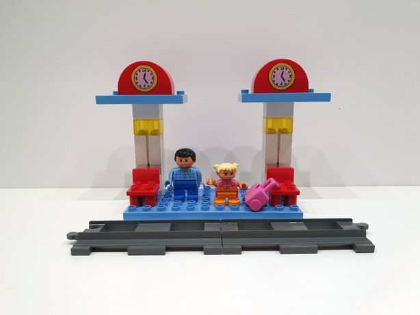 Lego DUPLO 3327 Intelli-Train Station, kolejka inteligentna, dworzec