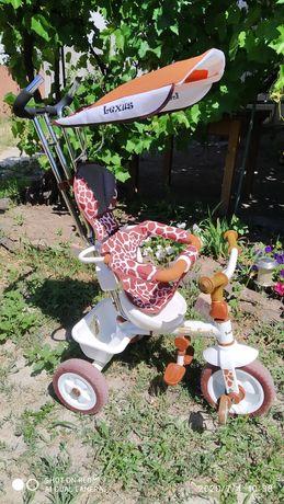 Велосипед для девочки.Трехколесный.