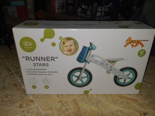 Rowerek biegowy kinderkraft runner nowy nieuzywany
