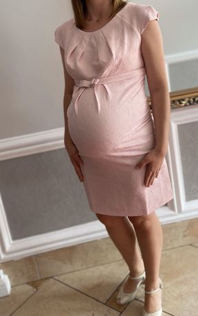 Wizytowa sukienka ciążowa