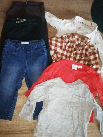 Ubranka dla chłopca paka 86 Zara H&M Reserved