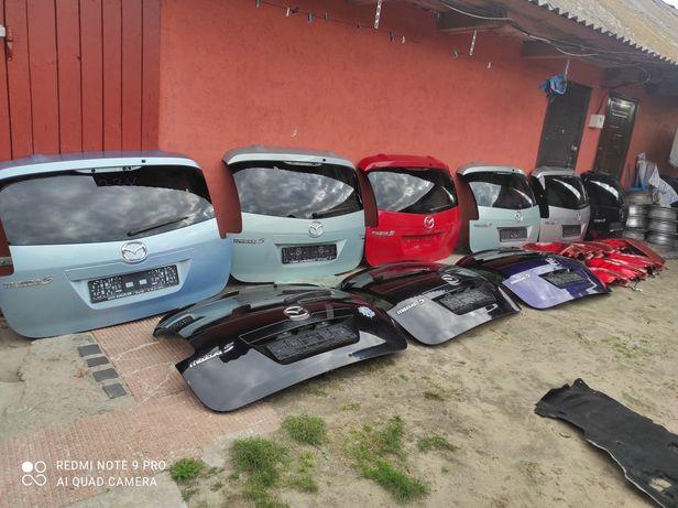 Ляда кришка багажника стоп фонарь фари форсунки мазда 5 Mazda 5