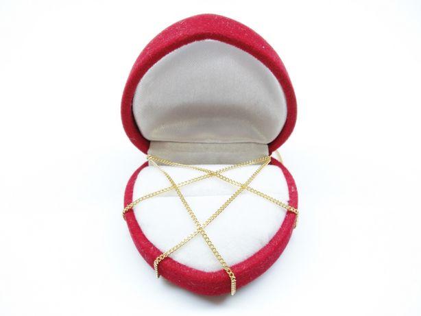Złoty łańcuszek drobna pancerka p.585 2,43g