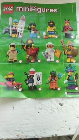 Лего Lego minifigures минифигурки 21 серия