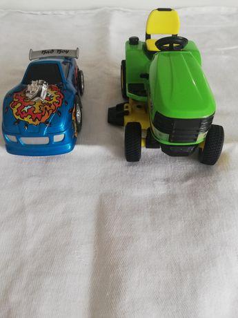 Autko i traktorek nowy