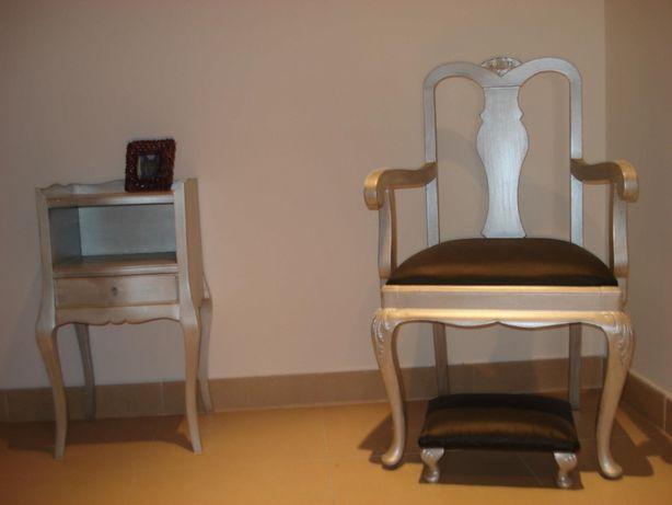 Mobiliário antigo restaurado