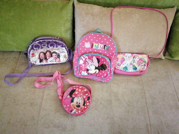 Sprzedam torebki i plecak dla dziewczynki