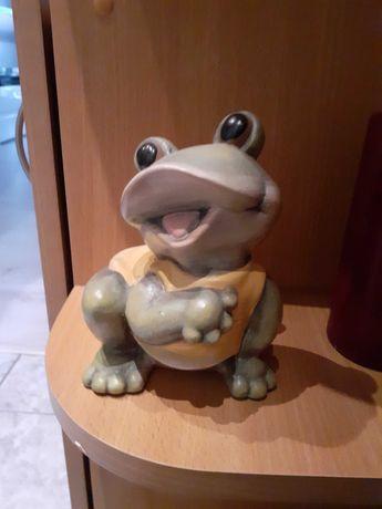 Ozdobna żaba skarbonka