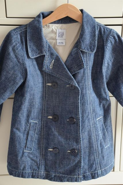 Płaszczyk jeansowy/dżinsowy GAP 4 latka 110