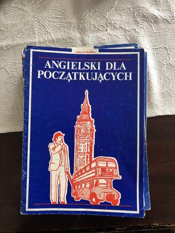 """Zeszyty z kursem angielskiego ESKK """"Angielski dla Początkujących"""""""