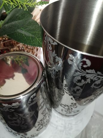 Shaker bostoński tin tin grawerowany profesjonalny barmański  nalewak