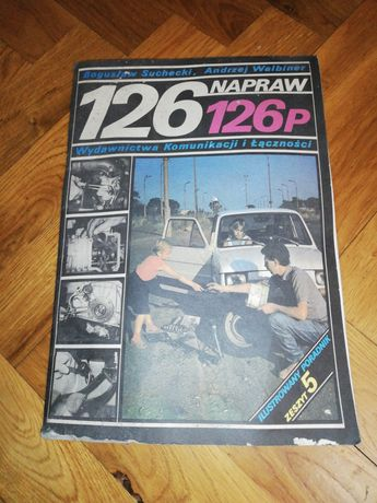 """Zeszyt nr 5 """"126 napraw 126 p""""."""