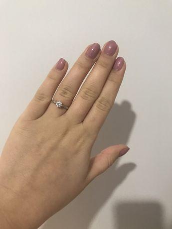 Srebrny pierścionek Apart r.14