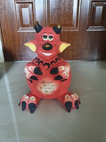 Skarbonka Figurka diabeł diabełek 18stka urodziny
