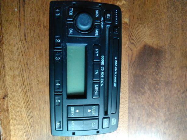 Radio zmieniarka CD Ford 6006E CD RDS EON