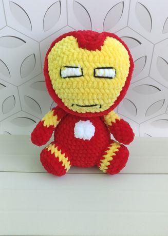Игрушка супергерой. Мягкие игрушки ручной работы. Вязанные супергерои.
