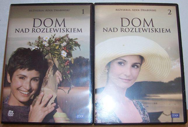 Serial na DVD: Dom nad rozlewiskiem + Miłość nad rozlewiskiem