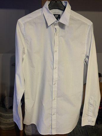 Meska koszula w groszki S H&M