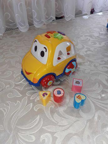 Samochód Smily play sorter